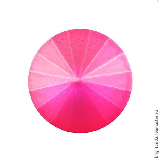 Для украшений ручной работы. Ярмарка Мастеров - ручная работа. Купить Риволи 10,12,14 мм Neon Rose Matt 1122  Сваровски. Handmade.
