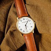 Украшения handmade. Livemaster - original item Watchband Frederique Constant genuine calf leather. Handmade.