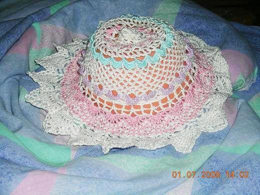 Шапки и шарфы ручной работы. Ярмарка Мастеров - ручная работа. Купить ажурная панамка. Handmade.