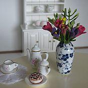 Материалы для творчества ручной работы. Ярмарка Мастеров - ручная работа ваза с цветами. Handmade.