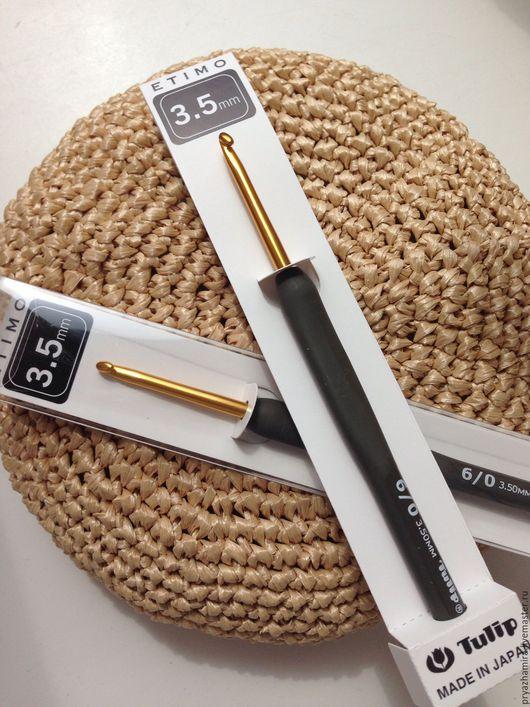Вязание ручной работы. Ярмарка Мастеров - ручная работа. Купить Tulip Gold #3,5 японский крючок. Handmade.