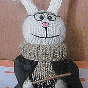 """Куклы и игрушки ручной работы. Ярмарка Мастеров - ручная работа вязаный """"Hare Potter"""". Handmade."""