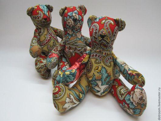 Мишки Тедди ручной работы. Ярмарка Мастеров - ручная работа. Купить Медведик. Handmade. Мишка, мишки, медвежонок тедди, хлопок