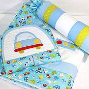 Для дома и интерьера ручной работы. Ярмарка Мастеров - ручная работа Именной комплект для новорожденного. Handmade.