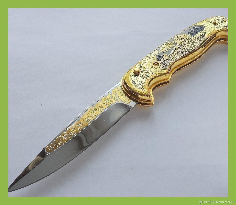 Нож автоматический z99, Ножи, Златоуст,  Фото №1