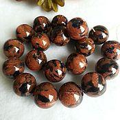 Бусины ручной работы. Ярмарка Мастеров - ручная работа 8мм Авантюрин коричнево-черный. Handmade.