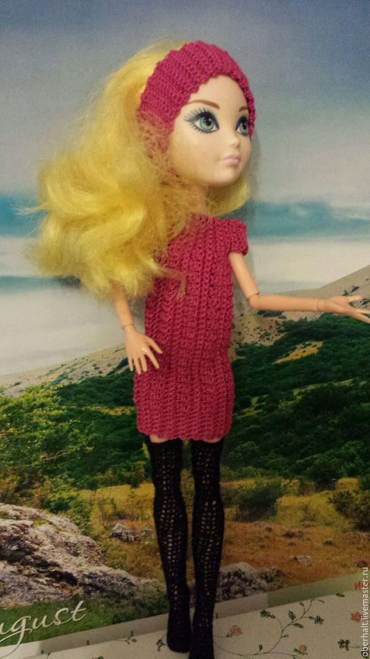 Одежда для кукол ручной работы. Ярмарка Мастеров - ручная работа. Купить Одежда для Monster high, Платье для куклы,одежда для кукол монстер хай. Handmade.