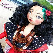 Куклы и игрушки ручной работы. Ярмарка Мастеров - ручная работа текстильная кукла Кармэн. Handmade.