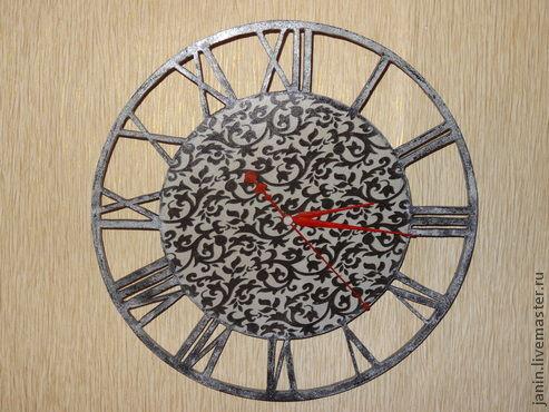 """Часы для дома ручной работы. Ярмарка Мастеров - ручная работа. Купить Настенные часы """"Металлическое кружево"""". Handmade. Часы"""