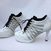 Обувь ручной работы. Ярмарка Мастеров - ручная работа кроссовки  на шпильке. Handmade.