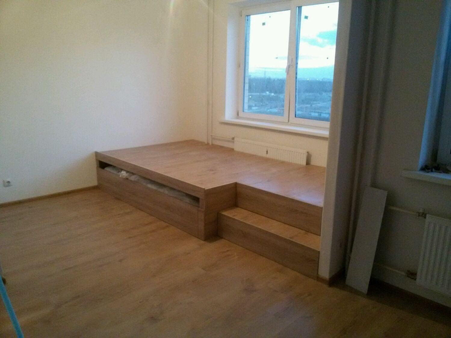 Кровать подиум, Кровати, Москва, Фото №1