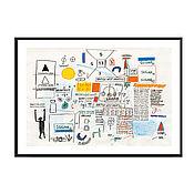 Картины и панно handmade. Livemaster - original item Poster by Jean Michel Basquiat, Museum Quality, Poster. Handmade.