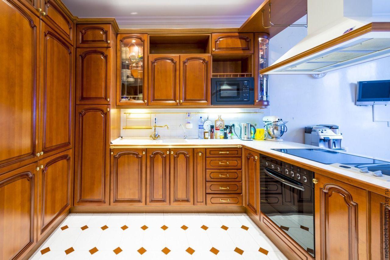 мебель из дерева кухонная, шкафы, тумбы, комоды, буфеты