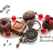 """Украшения ручной работы. Ярмарка Мастеров - ручная работа Браслет """"Chocolate Sweets"""" - 1. Handmade."""