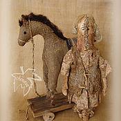 Куклы и игрушки ручной работы. Ярмарка Мастеров - ручная работа Девочка и Лошадь. Handmade.