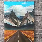 """Картины и панно ручной работы. Ярмарка Мастеров - ручная работа """"в Тибет"""". Handmade."""