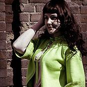 Одежда ручной работы. Ярмарка Мастеров - ручная работа Вязаный костюм с ажурным орнаментом. Handmade.
