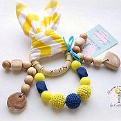 Куклы и игрушки handmade. Livemaster - original item Teething toy nominal juniper-silicone