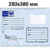 Материалы для творчества handmade. Livemaster - original item Plastic bag MAIL of RUSSIA 280х380. Handmade.