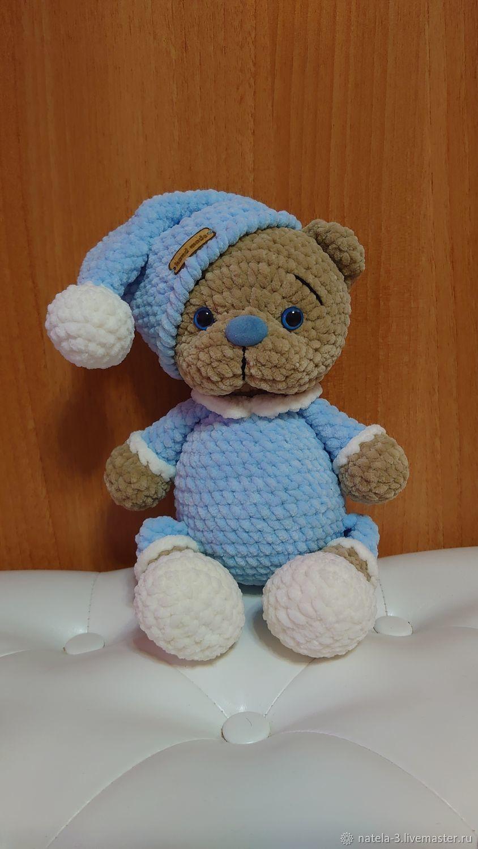 Плюшевый Мишка в пижаме, Мягкие игрушки, Москва,  Фото №1