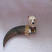 Подарки к праздникам ручной работы. Ярмарка Мастеров - ручная работа Флешка  коготь медведя. Handmade.