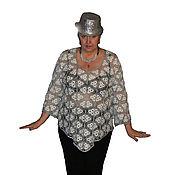 Одежда ручной работы. Ярмарка Мастеров - ручная работа Туника с бахромой. Handmade.