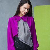 """Одежда ручной работы. Ярмарка Мастеров - ручная работа """"Неуловимый Шарм"""" (блузка). Handmade."""