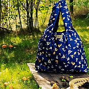 Сумки и аксессуары handmade. Livemaster - original item bag two way: Cat-and-mouse. Handmade.