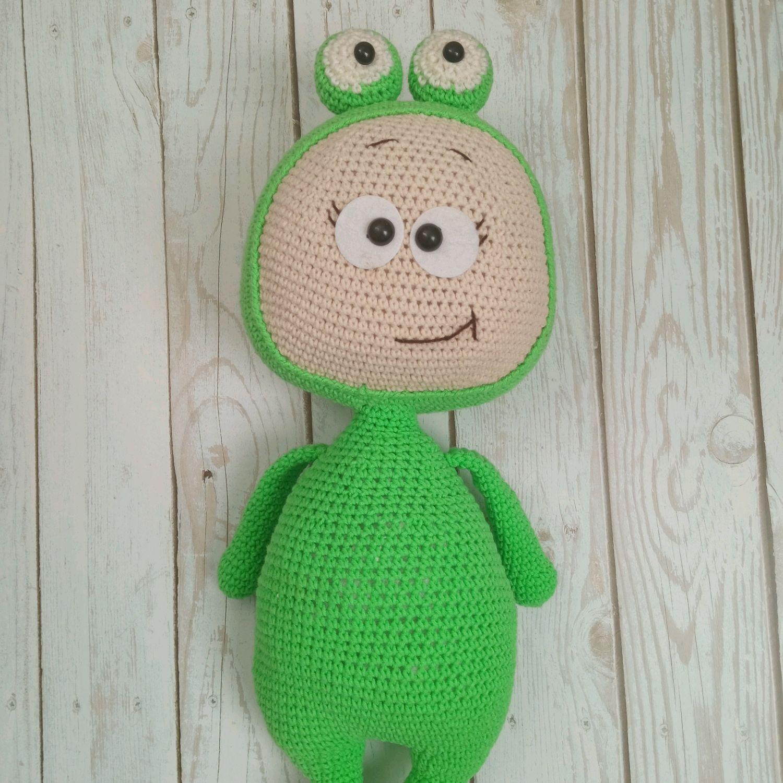 Бонни в костюме лягушенка, Мягкие игрушки, Самара,  Фото №1
