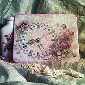 """Для дома и интерьера ручной работы. Ярмарка Мастеров - ручная работа Часы  """"Клевер"""". Handmade."""