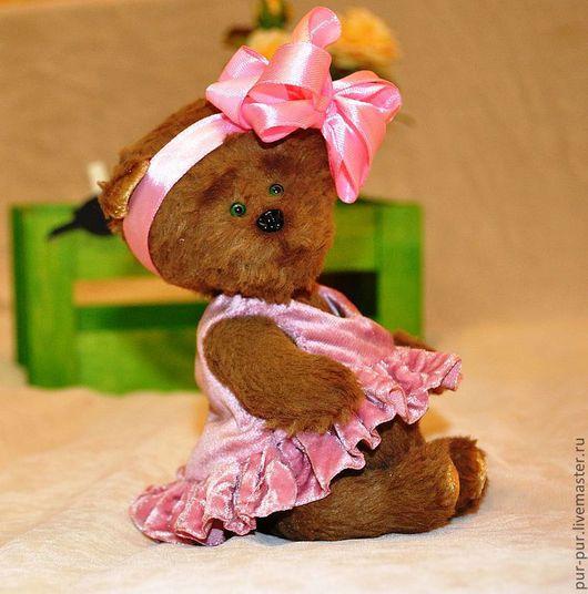 Мишки Тедди ручной работы. Ярмарка Мастеров - ручная работа. Купить Малышка Хельга (нашла дом). Handmade. Коричневый
