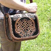Сумки и аксессуары handmade. Livemaster - original item Leather bag handmade. Handmade.