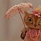 Игрушки животные, ручной работы. Заказать Совушка с зонтиком. Татьяна Силич (myown-sova). Ярмарка Мастеров. Сова, авторская работа