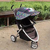 Работы для детей, ручной работы. Ярмарка Мастеров - ручная работа Козырек на коляску Hello Kitty. Handmade.