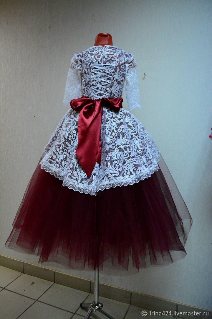 Нарядное платье на выпускной