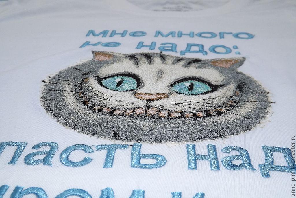 Вышивка схемы чеширский кот