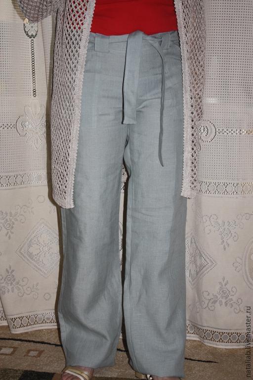 Льняные брюки мужские с доставкой