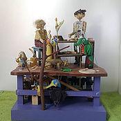 Куклы и игрушки ручной работы. Ярмарка Мастеров - ручная работа Идеи для творчества. Мы делаем сказку. Дерево. Механическая игрушка.. Handmade.