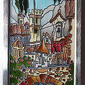 Для дома и интерьера ручной работы. Ярмарка Мастеров - ручная работа Часы-картина Итальянская арка. Handmade.