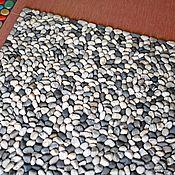 Для дома и интерьера handmade. Livemaster - original item Mat massage from a sea pebble. Handmade.