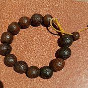 Фен-шуй и эзотерика ручной работы. Ярмарка Мастеров - ручная работа Тибетские браслет чётки. Дерево Будды ( Бодхи  ). Handmade.