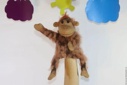 Кукольный театр ручной работы. Ярмарка Мастеров - ручная работа. Купить Обезьяна. Handmade. Обезьяна символ 2016 года