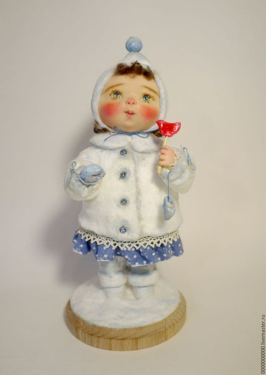 Коллекционные куклы ручной работы. Ярмарка Мастеров - ручная работа. Купить авторская кукла Варя. Handmade. Авторская кукла купить