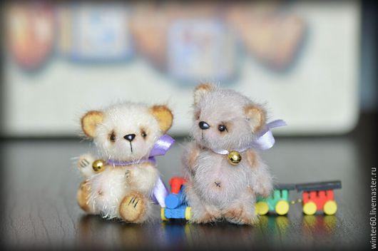 Мишки Тедди ручной работы. Ярмарка Мастеров - ручная работа. Купить Мишутка. Handmade. Серый, подарок