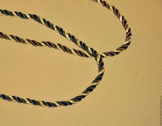 Для украшений ручной работы. Ярмарка Мастеров - ручная работа. Купить Шнурок шелковый с серебряным замком. Handmade. Комбинированный