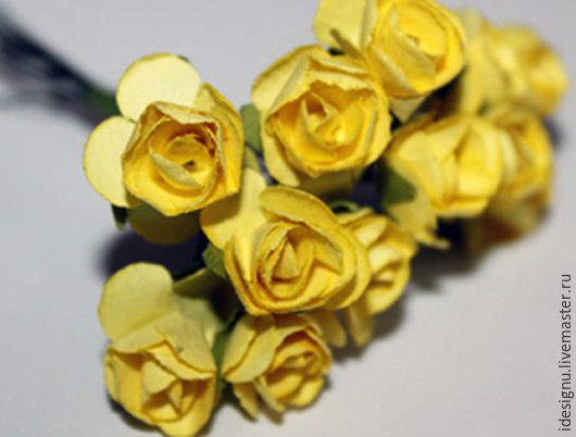 Материалы для флористики ручной работы. Ярмарка Мастеров - ручная работа. Купить искусственные цветы. Handmade. Комбинированный, бумажные цветы