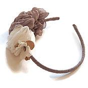 """Украшения ручной работы. Ярмарка Мастеров - ручная работа Ободок для волос """"Колосок"""". Handmade."""