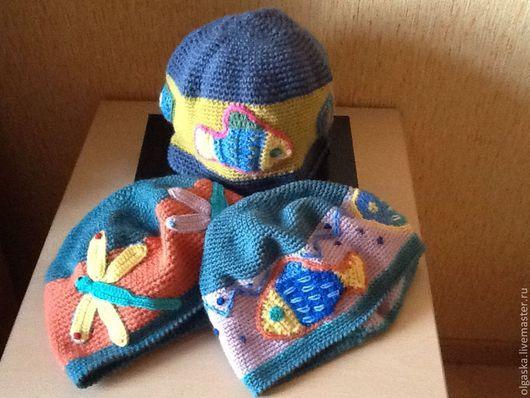 Шапки ручной работы. Ярмарка Мастеров - ручная работа. Купить шапочки Позитив. Handmade. Рисунок, красивая шапка