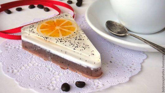 Мыло ручной работы. Ярмарка Мастеров - ручная работа. Купить Цитрусовое утро Натуральное мыло торт Мыльные тортики Мыло в подарок. Handmade.