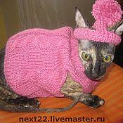 """Для домашних животных, ручной работы. Ярмарка Мастеров - ручная работа Комплект  """"Розовый гламур"""". Handmade."""